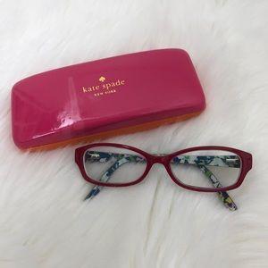 Kate Spade Sheba Red Eyeglasses Frames